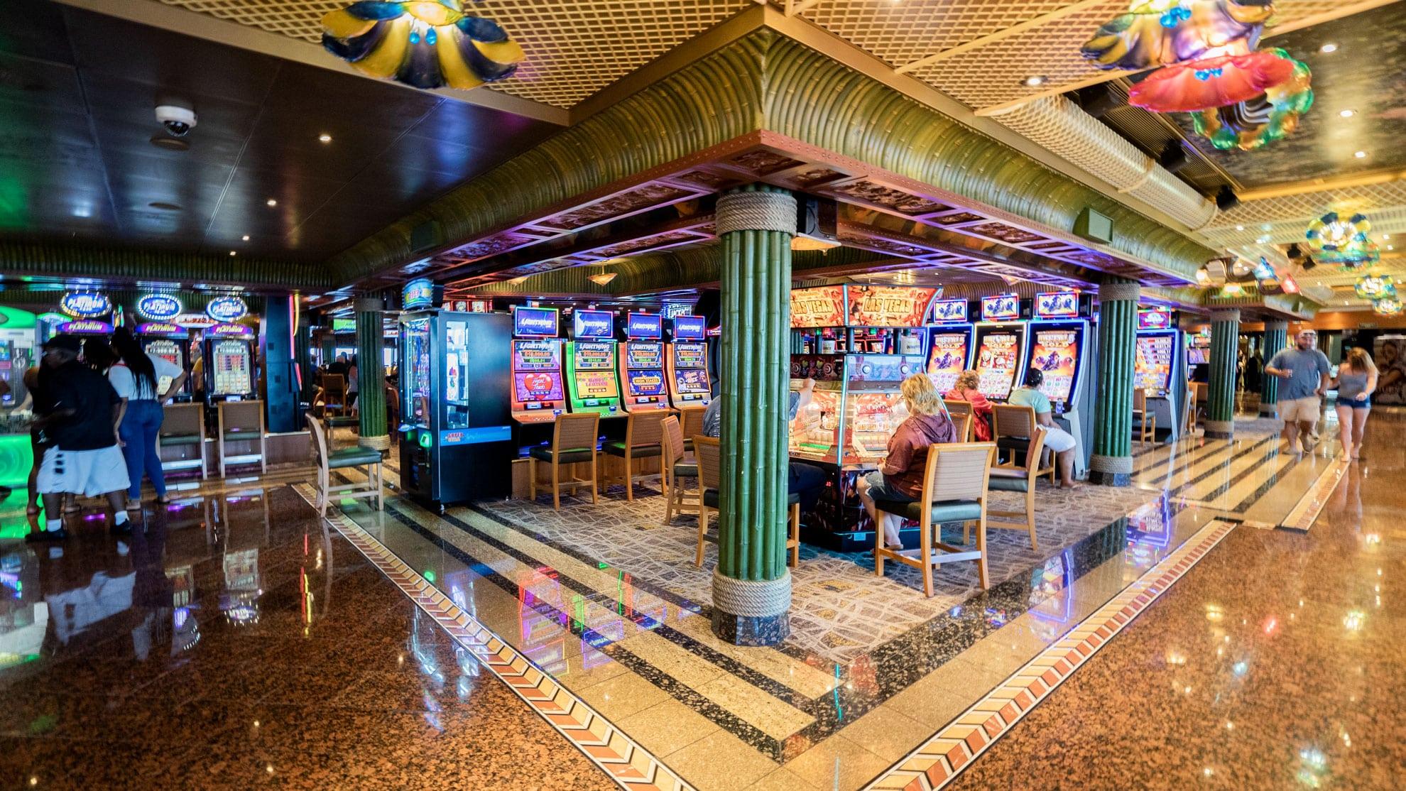 Casino auf Kreuzfahrtschiff