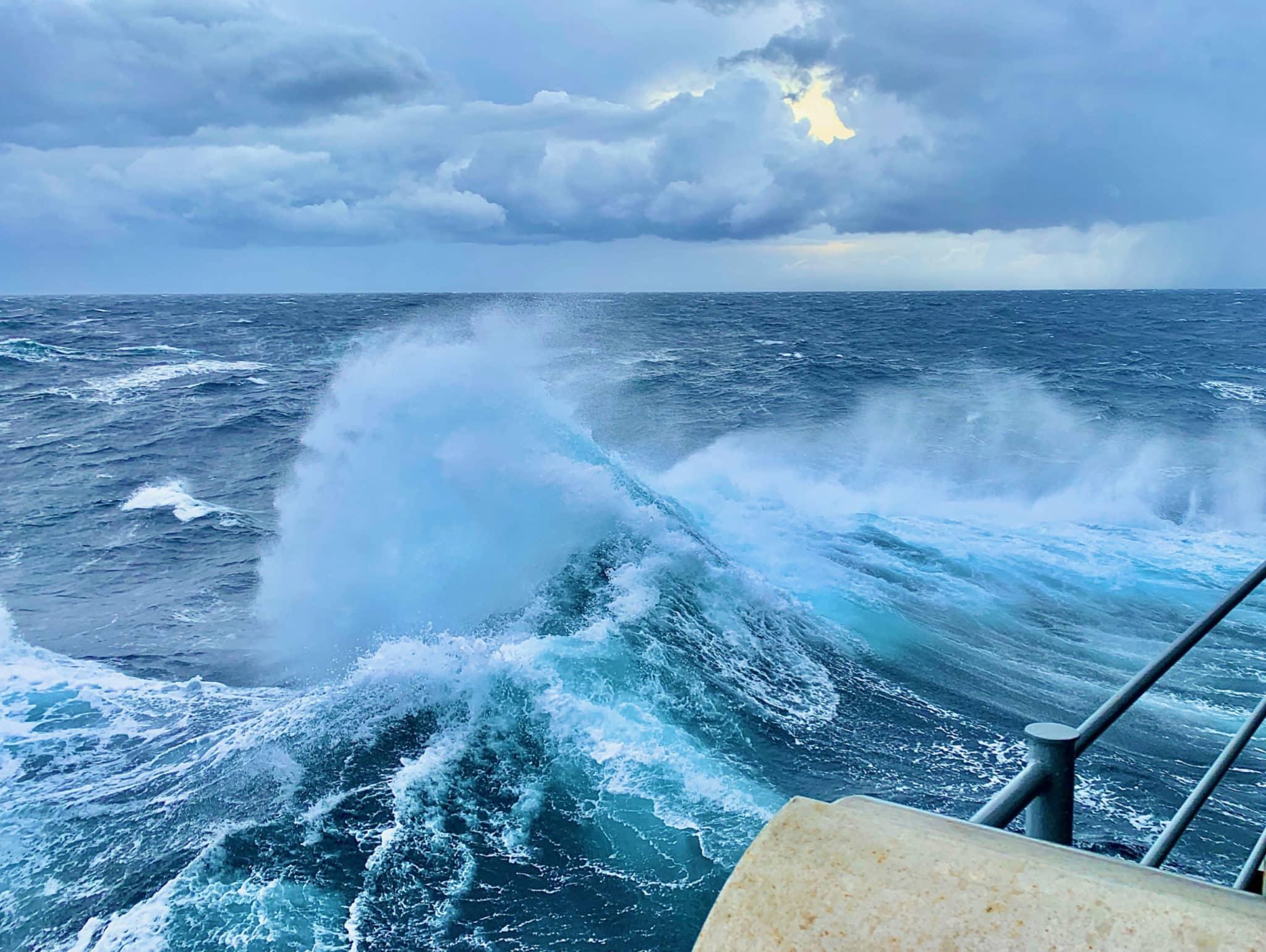 Seelkrankheit Kreuzfahrt Wellen