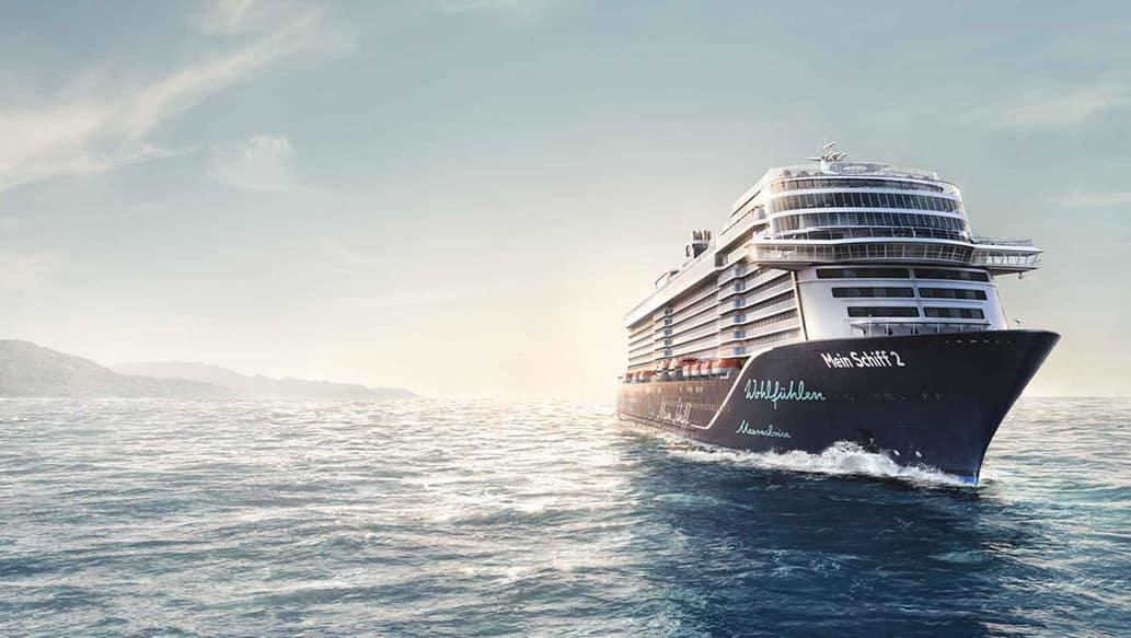 TUI Cruises Mein Schiff 2 auf Kreuzfahrt